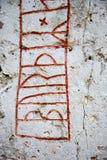Piedra de las runas Fotografía de archivo