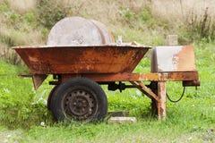 Piedra de molino vieja Imagen de archivo libre de regalías