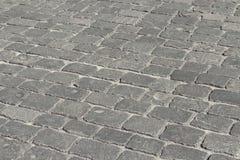 Piedra de pavimentación Foto de archivo libre de regalías