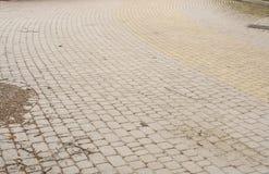 Piedra de pavimentación Fotografía de archivo