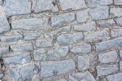 Piedra de pavimentación del primer Fotos de archivo