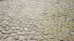 Piedra de pavimentación del vintage Fotografía de archivo