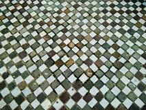 Piedra de pavimentación regular Fotos de archivo libres de regalías