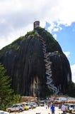 Piedra de Penol in Colombia Royalty Free Stock Image