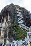 Piedra de Penol i Colombia Arkivfoto