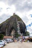 Piedra de Penol i Colombia Royaltyfri Bild