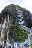 Piedra De Penol w Kolumbia Zdjęcie Stock