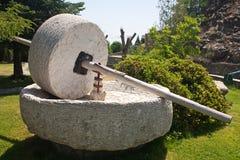 Piedra de pulido Fotografía de archivo libre de regalías