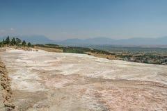 Piedra de Tiburian del travertino - toba volcánica calcárea imagen de archivo libre de regalías