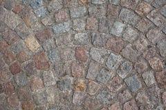Piedra del adoquín Foto de archivo libre de regalías