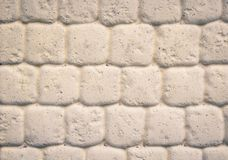 Piedra del blanco de la pared de la textura Imágenes de archivo libres de regalías