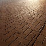 Piedra del camino Foto de archivo libre de regalías