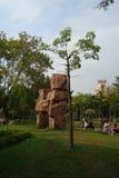 Piedra del chamán Imágenes de archivo libres de regalías
