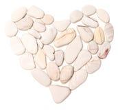 Piedra del corazón Fotos de archivo