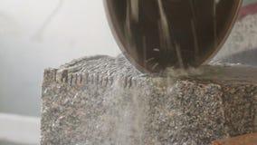 Piedra del corte almacen de metraje de vídeo