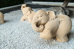 Piedra del elefante Fotografía de archivo libre de regalías