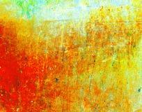 Piedra del extracto del color de la aguamarina fotografía de archivo libre de regalías