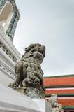 Piedra del león Imagen de archivo