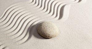 Piedra del masaje para el bienestar Foto de archivo