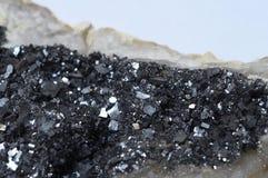 Piedra del mineral de la pirita Foto de archivo libre de regalías