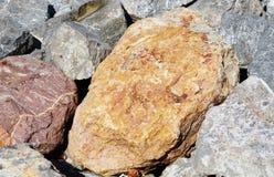 Piedra del oro Foto de archivo