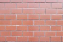 Piedra del rojo de la pared Foto de archivo libre de regalías