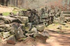 Piedra 1 del templo de Taprohm Foto de archivo libre de regalías