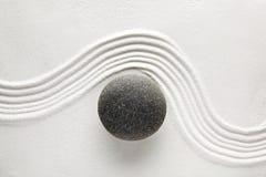 Piedra del zen Fotos de archivo libres de regalías