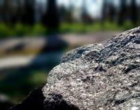 Piedra delantera Fotos de archivo libres de regalías