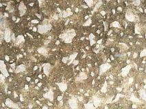 Piedra en fondo del papel pintado del cemento Fotografía de archivo