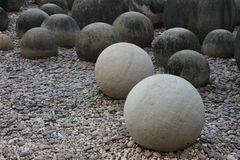 Piedra en jardín Imagen de archivo