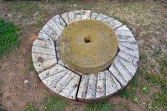 Piedra francesa del molino del vintage Fotografía de archivo libre de regalías