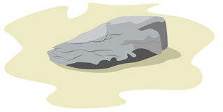 Piedra grande Imagenes de archivo