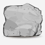 Piedra grande de la roca stock de ilustración