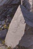 Piedra grande del granito Imágenes de archivo libres de regalías
