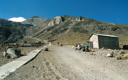 Piedra Grande hut Royalty Free Stock Photography
