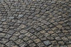 Piedra húmeda del adoquín Imagen de archivo libre de regalías
