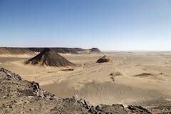 Piedra-hoyo faraónico del basalto Foto de archivo