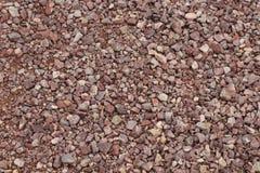Piedra machacada rosada imágenes de archivo libres de regalías