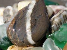 Piedra marina imagenes de archivo