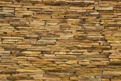 Piedra moderna del multicolor, pared de la piedra arenisca del travertino de la pizarra usada para el fondo Fotos de archivo