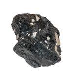Piedra negra de la ilmenita Fotos de archivo