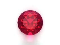 Piedra preciosa de rubíes Fotos de archivo