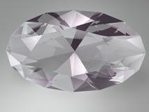 Piedra preciosa del Alexandrite Fotografía de archivo libre de regalías
