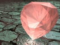 Piedra preciosa del granate Imagen de archivo libre de regalías