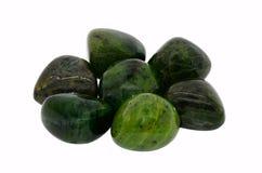 Piedra preciosa del jade fotos de archivo