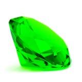 Piedra preciosa esmeralda verde foto de archivo libre de regalías
