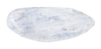 Piedra pulida de Natrolite aislada Fotos de archivo libres de regalías