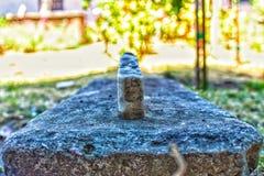 Piedra quebrada de la tumba imágenes de archivo libres de regalías