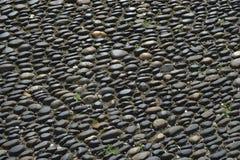 Piedra redonda del rodillo-guijarro de la calle Imagen de archivo libre de regalías